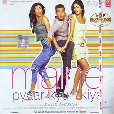 Maine pyar kyon kiya(Hindi Music/ Bollywood Songs / Film Soundtrack / Salman Khan / Katrina Kaif/ Sushmita Sen / Various Artists / Himesh Reshammiya )