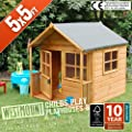 5x5 FT CHILDS CHILDRENS PLAYHOUSE WENDYHOUSE DEN courtesy of Westmount Living