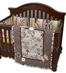 Cotton Tale Designs 4 Piece Penny Lane Crib Bedding Set