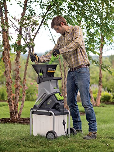 Big Save! Earthwise GS70015 Electric 15 Amp Garden Chipper Shredder