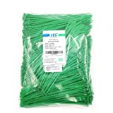 HS Green Zip Ties 8 Inch (Bulk-1000 Pack) Nylon Cable Ties 40 Lbs Self-Locking Wire Ties for Electronics Organizer (Color: green 8