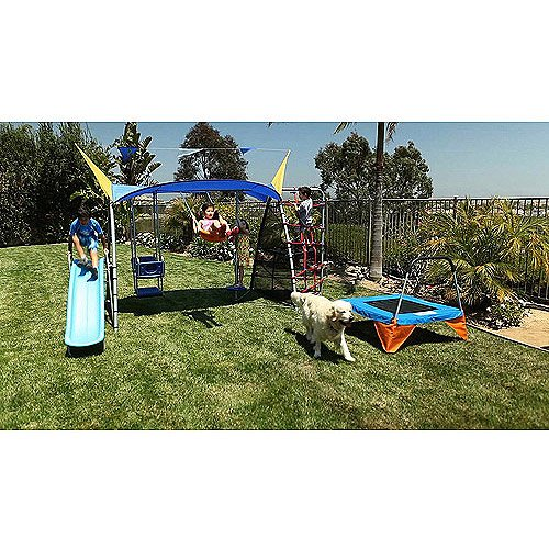 Outdoor Playsets Are Good For Kids Exercise. The Kids Outdoor Gym Is The Best Exercise Around, Guaranteed. No More Neighborhood Playgrounds. Enjoy Your Own Backyard Playsets And Delight In Happy Kids. Set Up Your Own Outdoor Playsets For Kids. front-775546