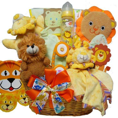 Cuddly, Cuddly Cub Baby Boy Gift Basket - 1