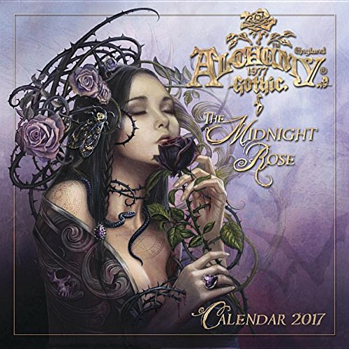 Alchemy 1977 Gothic 2017 Calendar: The Midnight Rose