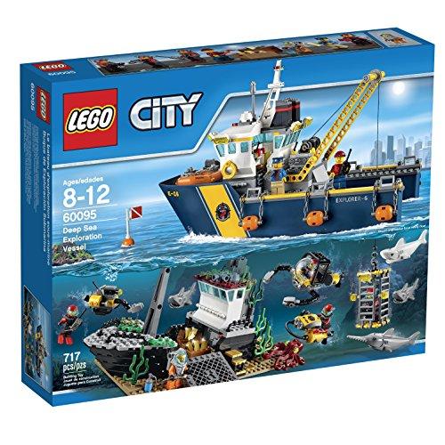 LEGO City Deep Sea Explorers 60095 Exploration Vessel Building Kit (Big O Model Kit compare prices)