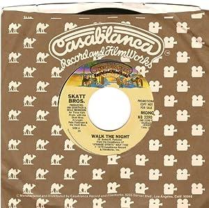 walk the night / mono 45 rpm single