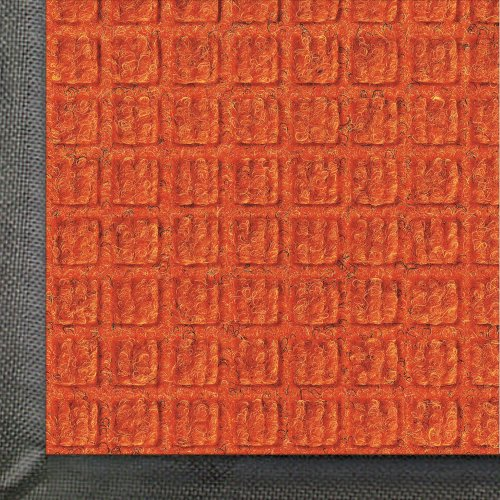 Andersen 200 Orange Polypropylene Waterhog Classic Entrance Mat, 4' Length X 3' Width, For Indoor/Outdoor front-485704