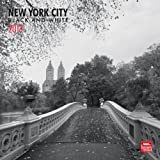 New York City Black & White 2013 Square 12X12 Wall (Multilingual Edition)