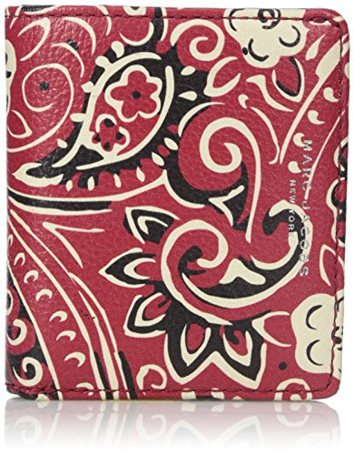 Marc-Jacobs-Recruit-Paisley-Open-Face-Billfold-Wallet-Chili-Pepper-Multi-One-Size