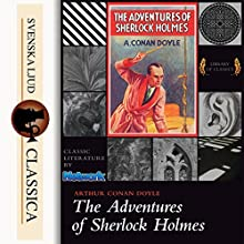 The Adventures of Sherlock Holmes Audiobook by Arthur Conan Doyle Narrated by Mark F. Smith