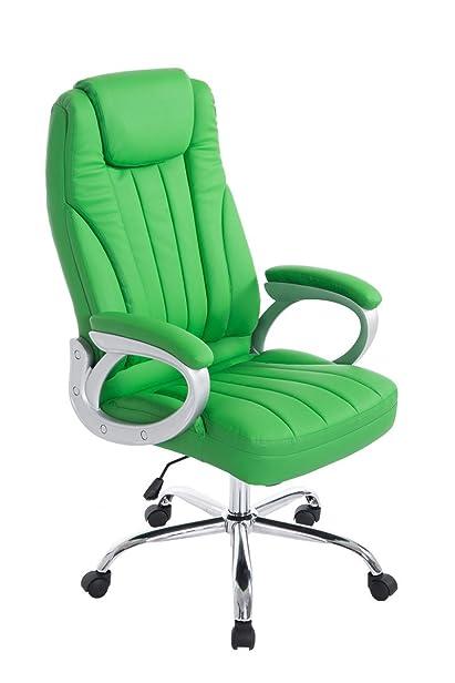 Sedia da ufficio grande Ginevra verde