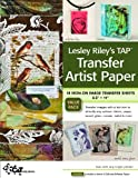img - for Lesley Riley's TAP Transfer Artist Paper 18-Sheet Pack: 18 Iron-on Image Transfer Sheets 8.5 x 11 book / textbook / text book