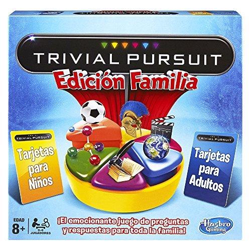 Hasbro - Juego de mesa MB Trivial, juego de familia (730137930)