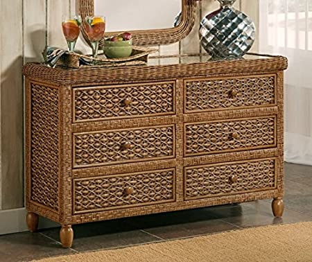 West Indies 6 Drawer Dresser