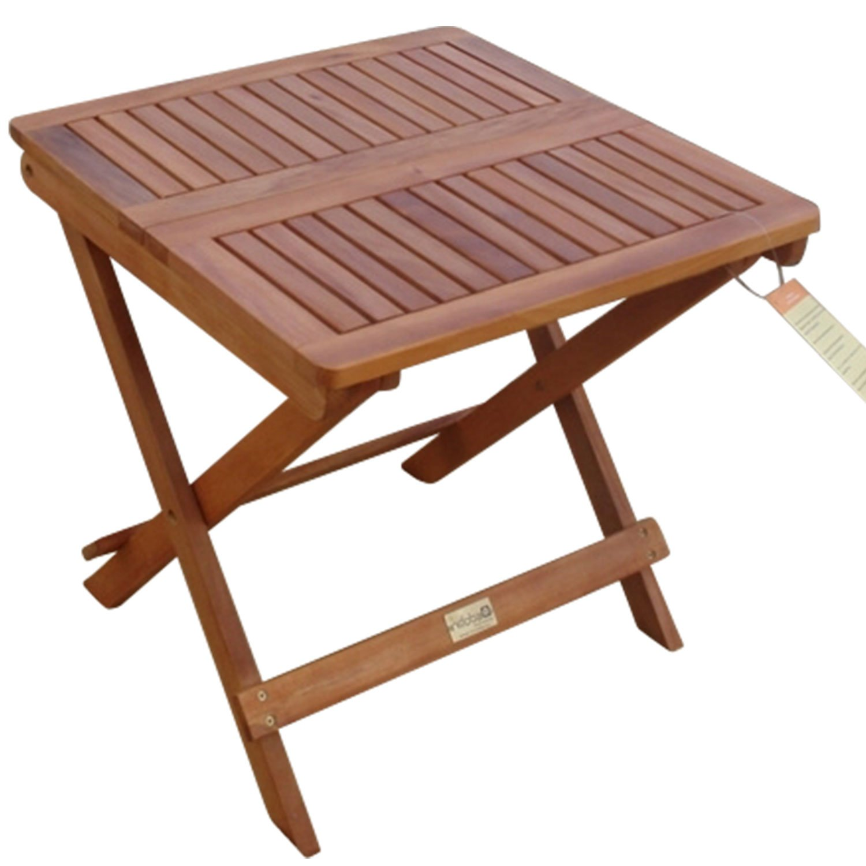 indoba® IND-70003-BT – Serie Sun Flair – Beistelltisch aus Holz FSC zertifiziert – klappbar günstig bestellen