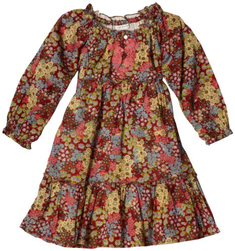 Mimi & Maggie Girls 7-16 Earth Flowers Dress