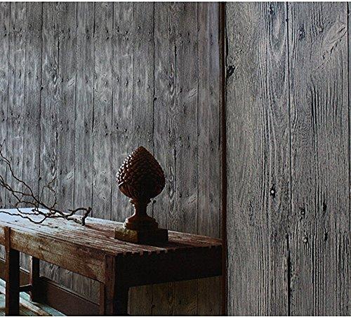 Blooming wall faux vintage wood panel wood plank wallpaper - Faux wood plank wallpaper ...