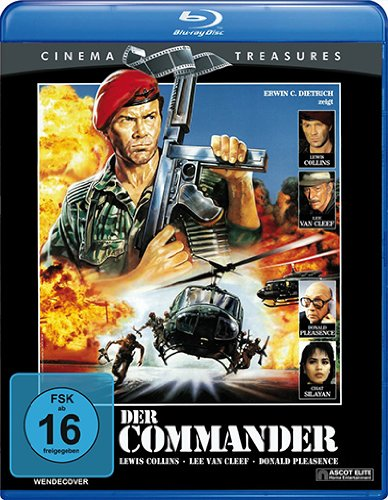 Der Commander (Cinema Treasures) [Blu-ray]
