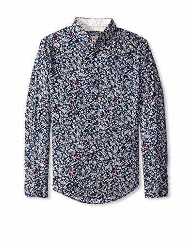 Barque Men's Floral Print Shirt