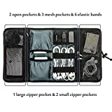 #5: Generic Roll-up Universal Electronics Accessories Travel Organizer / Hard Drive Case / Cable Organizer
