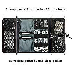 Generic Roll-up Universal Electronics Accessories Travel Organizer / Hard Drive Case / Cable Organizer