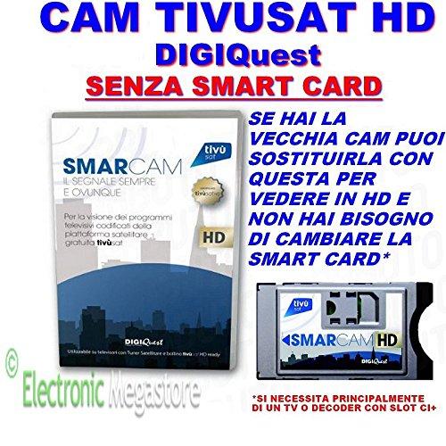 Tivusat SmarCAM FULL HD serie ORO senza TivuSat card