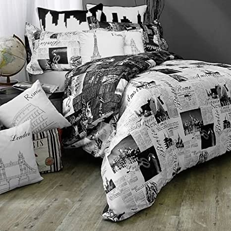 Passport Paris Bedding