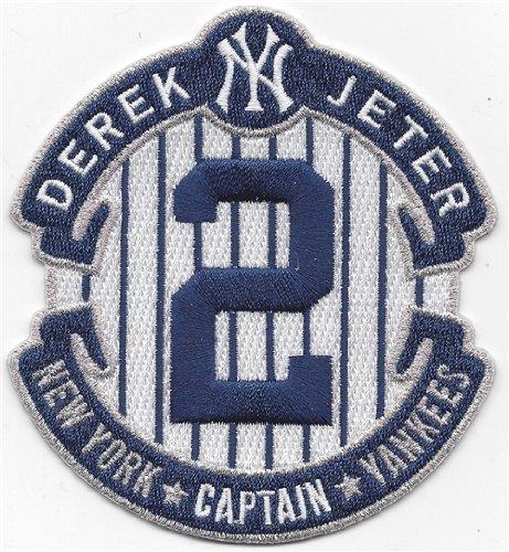 2014 MLB New York Yankees Derek Jeter Captain #2 Retirement