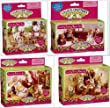Calico Critters Country Furniture 4 Sets Bedroom, Patio, Dining & Living Rooms