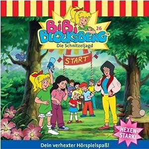 Die Schnitzeljagd (Bibi Blocksberg 26) Hörspiel