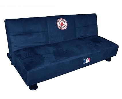 Boston Red Sox Convertible Sofa w Tray