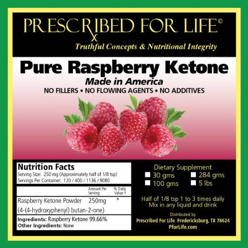Pure Raspberry Ketones Raspberry Ketones 100 Pure Usa Ketone Powder For Weight Loss Appetite Suppressing See Dr Oz 2 Bulk Packs Each Pack Contains 30 000 Mgs 30gms Equals 240 250mg Servings