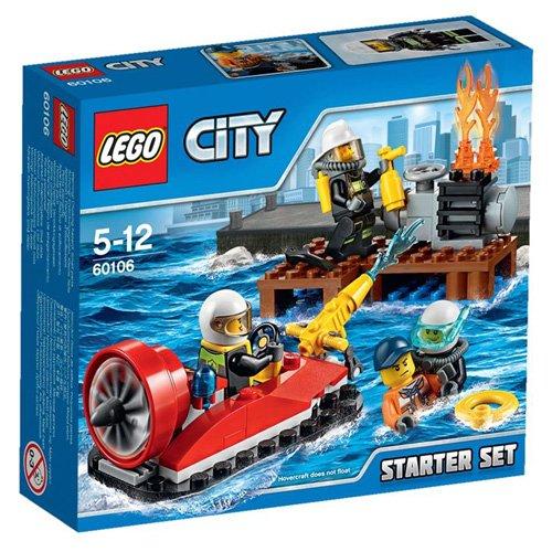 レゴ シティ 消防隊スタートセット 60106