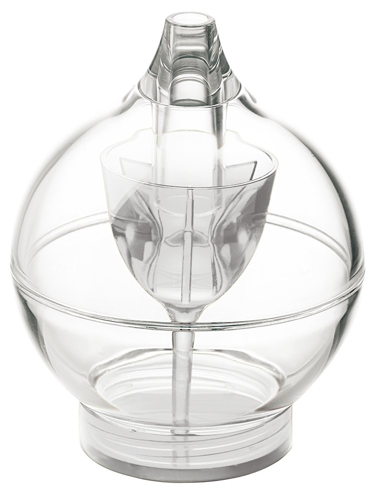 Guzzini GU 2298.00 00 Feeling 4.3 Inch Sugar Dispenser, Clear