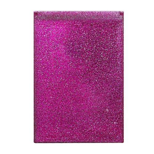 ヤマムラ グリッターコンパクトミラー ピンク