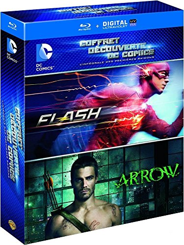 Coffret-dcouverte-DC-Comics-lintgrale-des-premires-saisons-Flash-Arrow-Blu-ray-Copie-digitale