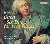 echange, troc W.F. Bach, Kuijken, Hantai - Six Duets for Two Flutes