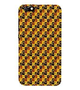 EPICCASE brown grains Mobile Back Case Cover For Huawei Honor 4X (Designer Case)