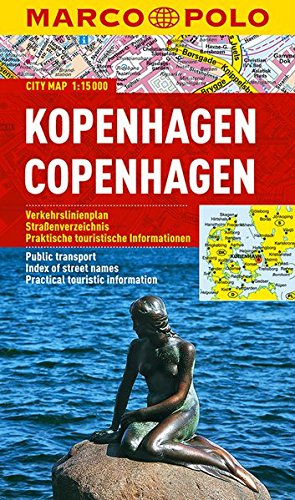 MARCO POLO Cityplan Kopenhagen 1 : 15.000