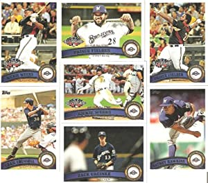 Topps MEGA SET - 30 Cards of the 2011 Milwaukee Brewers - Complete Topps Series 1 & 2 & Update (Series 3) / Including Ryan Braun, Prin at Sears.com