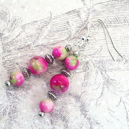 boucles-doreilles-thurcolas-style-boheme-trio-tres-chics-et-classiques-de-la-gamme-pink-addict-en-pe