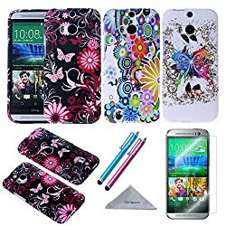 LG G Stylo Case, Harryshell(TM) Flying Feather Wallet Folio Leather Flip Case Cover with Credit Card Slot Wrist Strap for LG G Stylo (C-3)