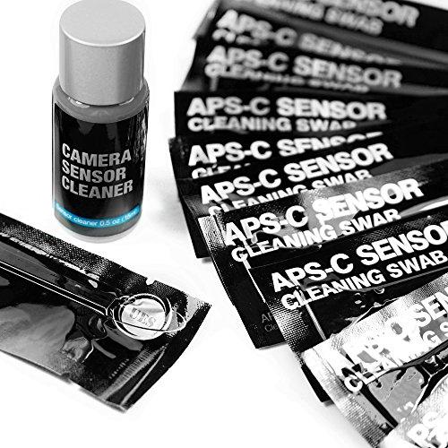 ues-fotocamera-digitale-professionale-kit-di-pulizia-14-x-apsc-tamponi-di-sensore-e-15ml-detergenti-