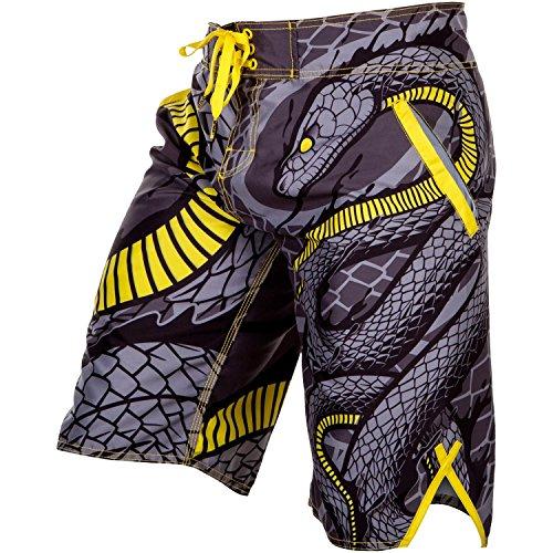 Venum pantaloncini da pantaloncini, Snaker, giallo/nero, Uomo, Snaker, Jaune / Noir, XL