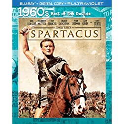 Spartacus (Blu-ray + Digital Copy + UltraViolet)