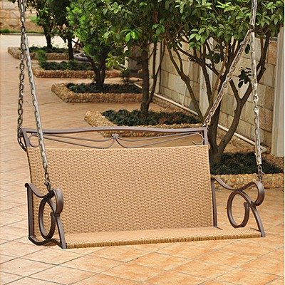 Relax On A Deluxe Wooden Porch Swing Webnuggetz Com