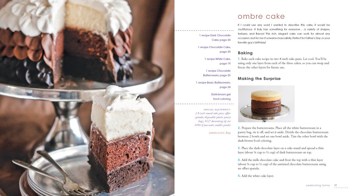 Ombre Cake in Surprise-Inside Cakes Book