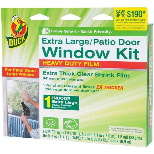 Duck Brand Xl Heavy-Duty Patio Door Window Shrink Kit (Duck Brand Window Insulation compare prices)