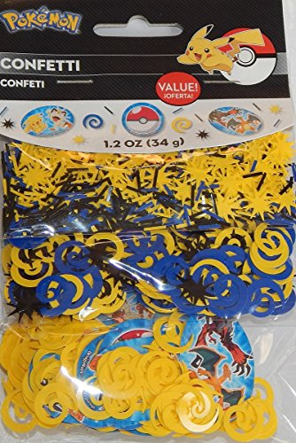 Pokemon Confetti Bags 1.2 oz ~ Birthday Party Supplies Decorations