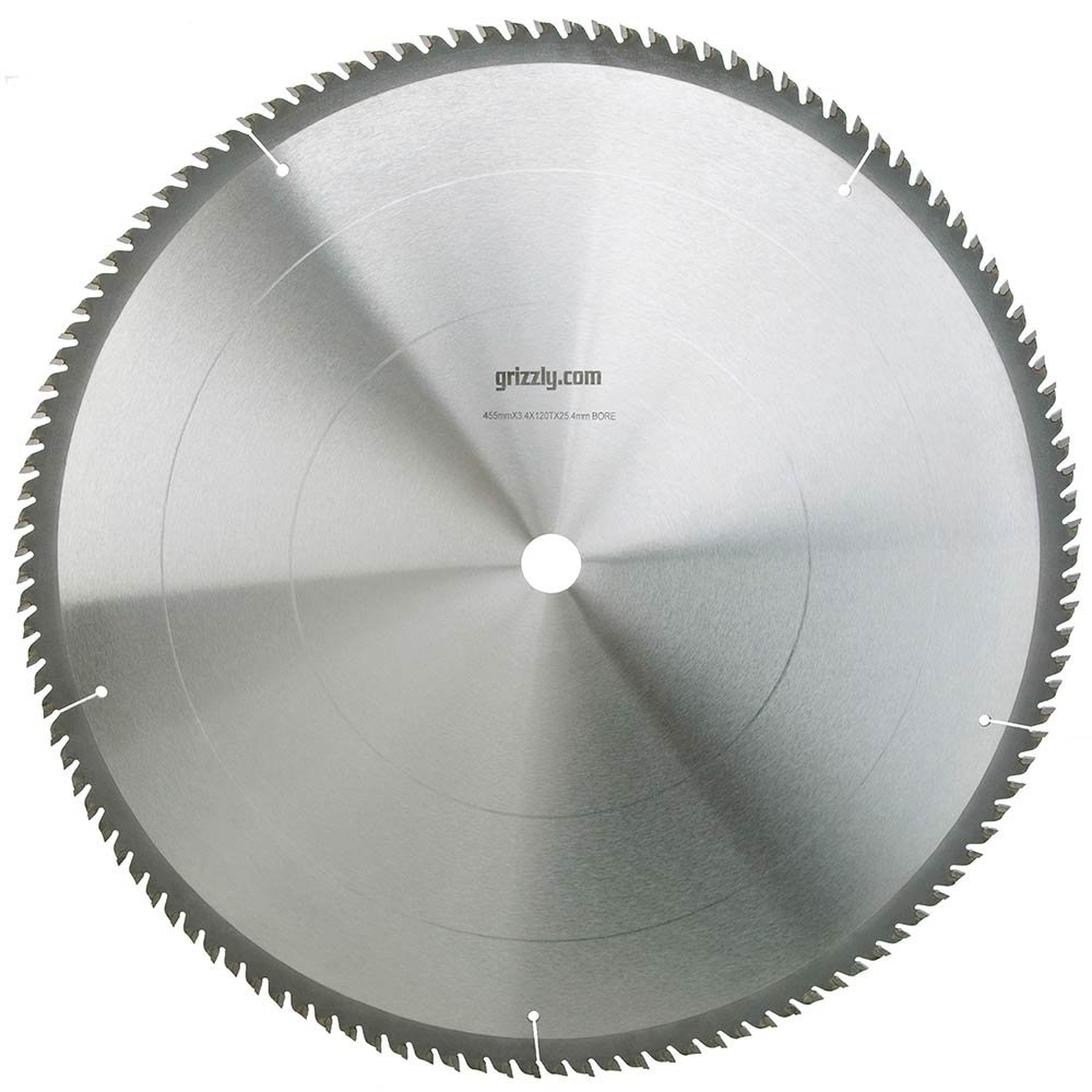 Grizzly H3387 18-Inch 120T Cut-Off Saw Blade 1-Inch Arbor grizzly g1870 wood threading 1 inch die